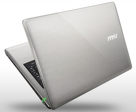 MSI CX640-071US and CR640-035US Notebooks with 2nd Gen Intel Core i3