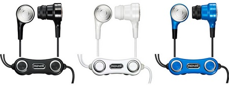 Maxell VIBRABONE HP-VBC40 bone-conduction in-ear headphones
