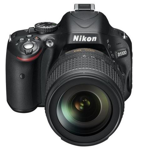 Nikon D5100 DSLR Camera front