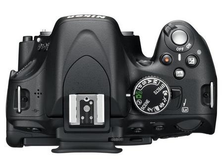 Nikon D5100 DSLR Camera top