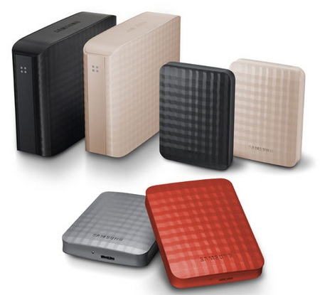 Samsung M2 Portable, M3 Station USB 3.0 Hard Drives