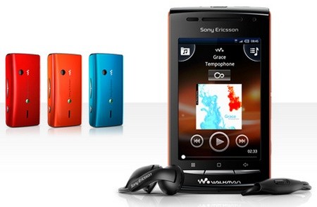 Sony Ericsson W8 is XPERIA X8 with Walkman Logo