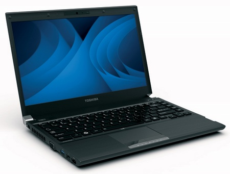 Toshiba Portege R830 Series Ultraportable Notebook 1