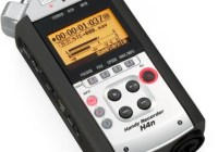 ZOOM H4n Handheld Recorder supports 4-channel Audio Recording