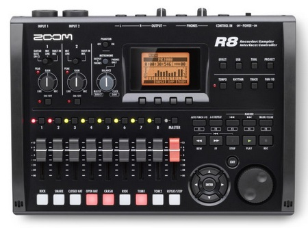 ZOOM R8 - the Total Music Production Solution