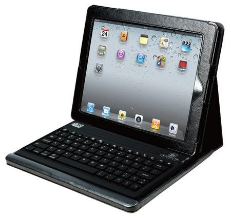 Adesso Compagno 2 WKB-2000CD Bluetooth Keyboard Case for iPad 2