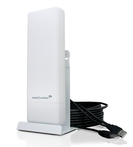 Amped Wireless UA600EX Wireless-N 600mW Pro USB Adapter