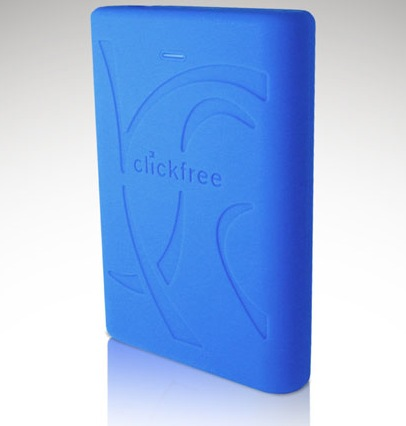 Clickfree C2 Rugged Portable Hard Drive
