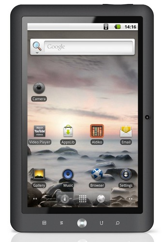 Coby Kyros MID1024 Android Tablet 1