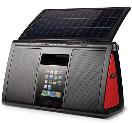 Eton Soulra XL Solar-powered iPhone Speaker 1