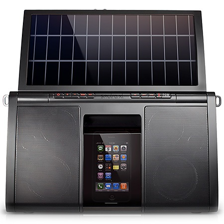 Eton Soulra XL Solar-powered iPhone Speaker 2