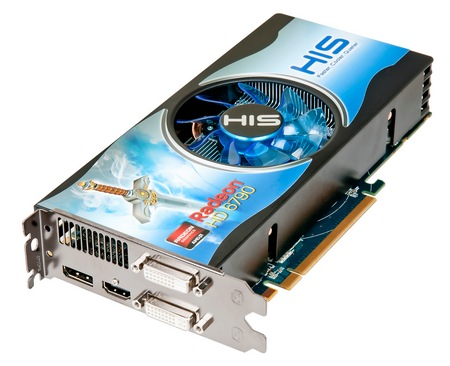 HIS H679F1GD Radeon HD6790 Fan Graphics Card