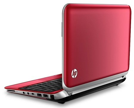 HP Mini 210 Netbook gets Redesigned