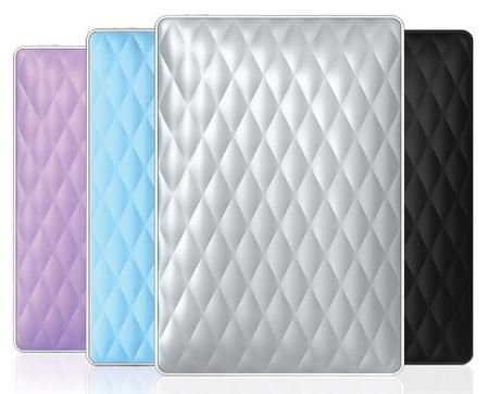 Kobo eReader Touch Edition E-book Reader colors