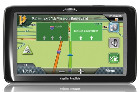 Magellan RoadMate 9055-LM GPS Navigation Device for Large Vehicles2