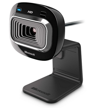 Microsoft LifeCam HD-3000 720p HD Webcam 1