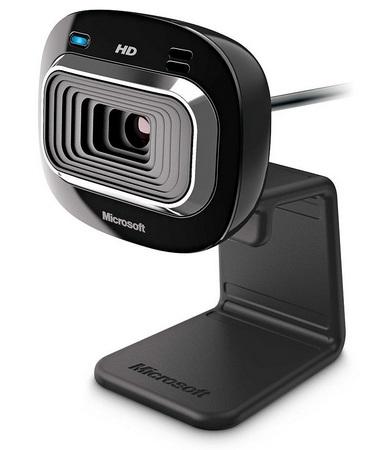 Microsoft LifeCam HD-3000 720p HD Webcam 1