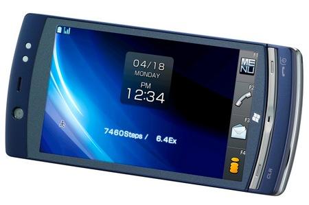 NTT DoCoMo Fujitsu LOOX F-07C Windows 7 Handset 1