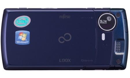 NTT DoCoMo Fujitsu LOOX F-07C Windows 7 Handset back