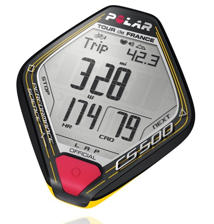 Polar Limited Edition CS500 Tour de France Training Computer