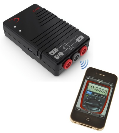 Redfish iDVM iPhone-enabled Digital Multimeter