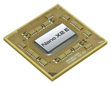 VIA Nano X2 E-Series Dual Core Processors