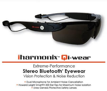 iharmonix Qi-wear Stereo Bluetooth Eyewear