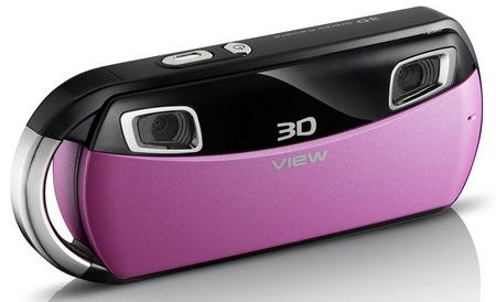 DXG DXG-018 Pocket 3D Camera pink