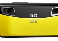 DXG DXG-018 Pocket 3D Camera yellow