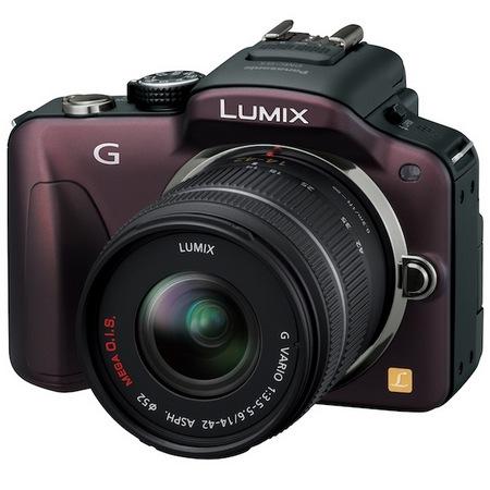 Panasonic LUMIX DMC-G3 Micro Four Thirds Camera brown