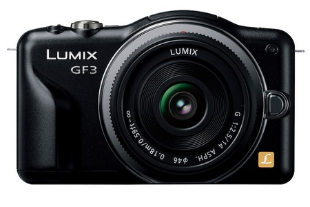 Panasonic LUMIX GF3 - the Company's Smallest and Lightest Micro Four Thirds Camera black