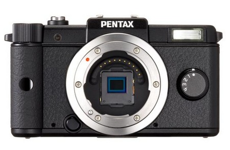 Pentax Q is the World's Smallest and Lightest Interchangeable Lens Camera black no lens