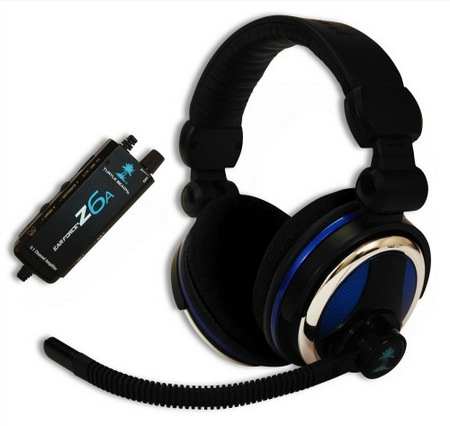 Turte Beach Ear Force Z6A Gaming Headset