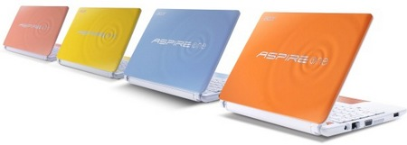 Acer Aspire One Happy 2 Color-Inspired Netbooks 1