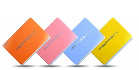 Acer Aspire One Happy 2 Color-Inspired Netbooks