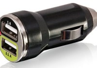 Bracketron UGC-298-BL Dual USB Charger works with iPad
