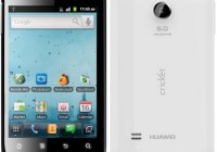 Cricket Huawei Ascend II Budget-priced Android Smartphone