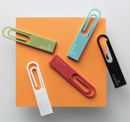 Elecom DATA Clip paper clip USB flash drive
