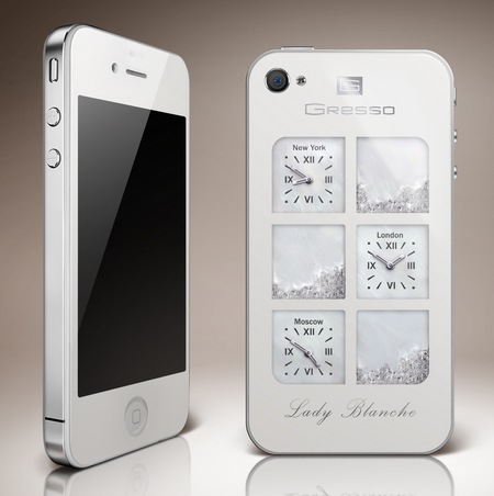 Gresso iPhone 4 Lady Blanche for Women