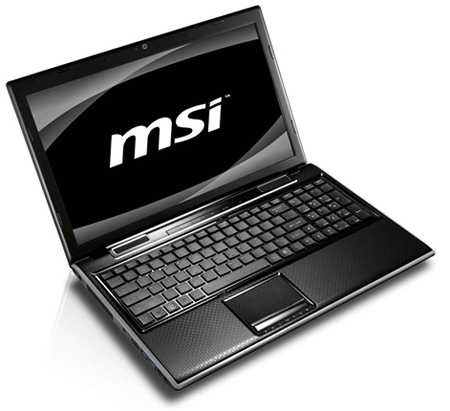 MSI FX620DX Sandy Bridge Notebook with Geforce GT540M