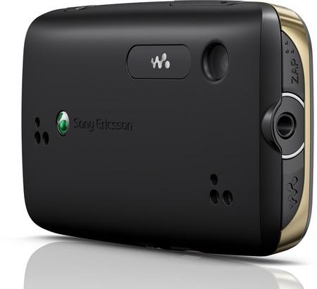 Sony Ericsson Mix Walkman Touchscreen Music Phone back
