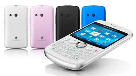 Sony Ericsson txt QWERTY Phone 1