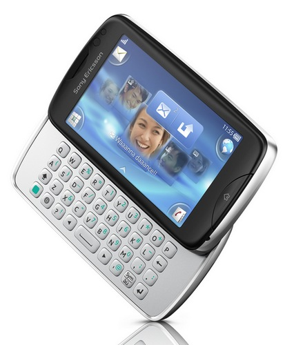 Sony Ericsson txt pro with QWERTY Keyboard and Touchscreen 1