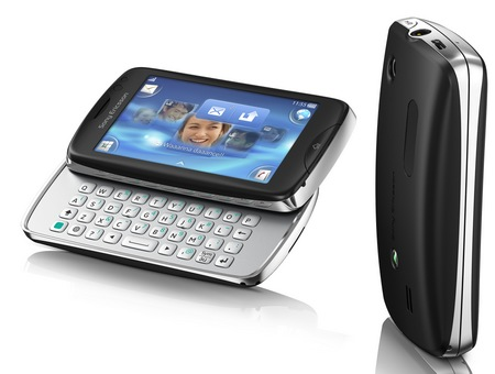 Sony Ericsson txt pro with QWERTY Keyboard and Touchscreen