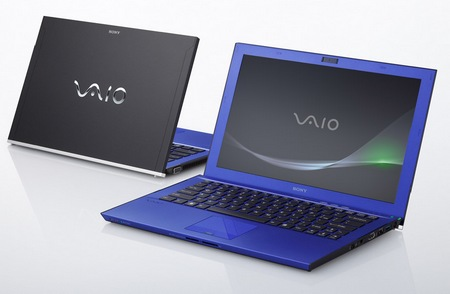Sony VAIO Z Series Ultra portable Notebook colors