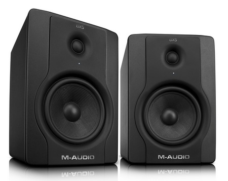 Avid M-Audio BX8 D2 and BX5 D2 Studio Monitors