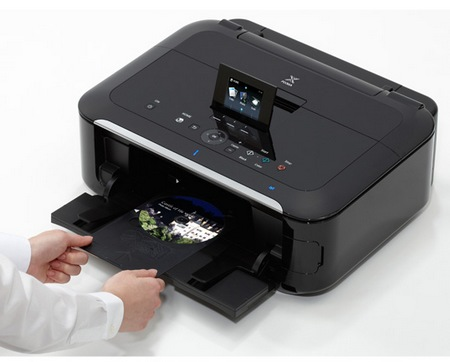 Canon PIXMA MG5320 Wireless Photo All-In-One Printer in use