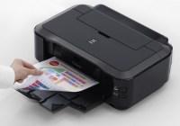 Canon PIXMA iP4920 Photo Inkjet Printer in use