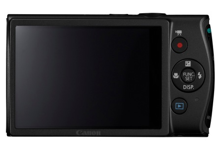 Canon PowerShot ELPH 310 HS 8x zoom compact digital camera back