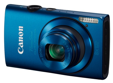 Canon PowerShot ELPH 310 HS 8x zoom compact digital camera blue